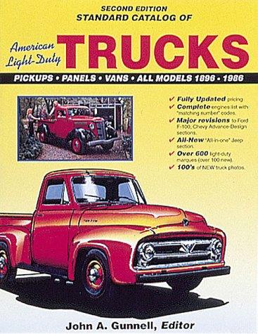 9780873412384: Standard Catalog of American Light Duty Trucks, 1896-1986