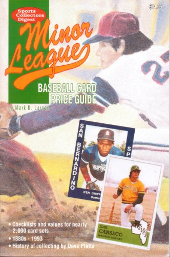 9780873412391: Minor League Baseball Card Price Guide (Sports Collectors Digest)
