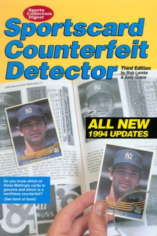 9780873412841: Sportscard Counterfeit Detector/All New 1994 Updates (Sports Collectors Digest)