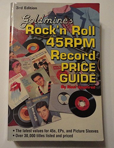 9780873412872: Goldmine's Rock 'N Roll 45Rpm Record Price Guide (Goldmine's Rock 'n Roll 45rpm Price Guide)