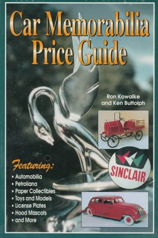 9780873413701: Car Memorabilia Price Guide