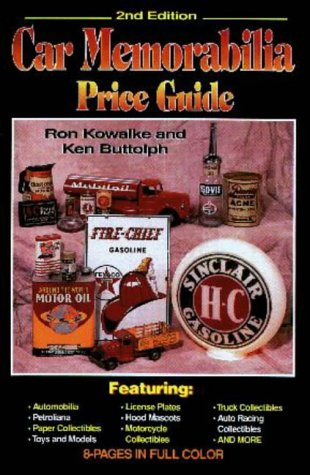 9780873415224: Car Memorabilia Price Guide