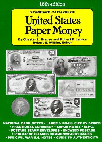 9780873415361: Standard Catalog of United States Paper Money