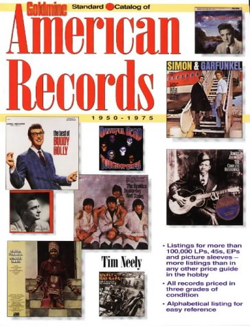 9780873416337: Goldmine Standard Catalog of American Records 1950-1975