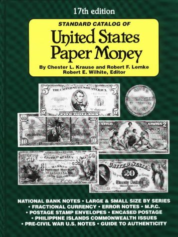 9780873416535: Standard Catalog of United States Paper Money (17th ed)