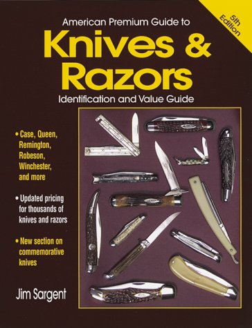 9780873417549: American Premium Guide to Knives and Razors (American Premium Guide to Knives & Razors (w/DVD))