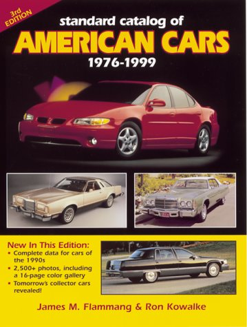 9780873417556: Standard Catlog of American Cars: 1976-1999 (Standard Catalog of American Cars)