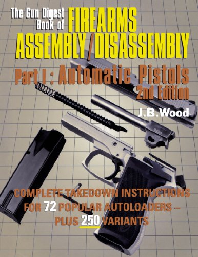 9780873417839: The Gun Digest Book of Firearms Assembly/disassembly: Pt. 1: Automatic Pistols