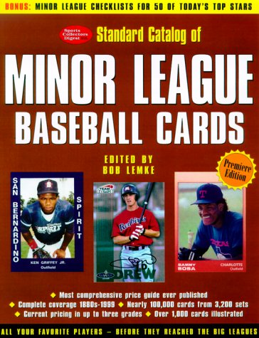 9780873418768: Standard Catalog of Minor League Baseball Cards: The Most Comprehensive Price Guide Ever Published