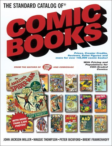 9780873419161: The Standard Catalog of Comic Books