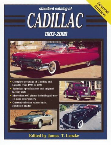 9780873419253: Standard Catalog of Cadillac, 1903-2000