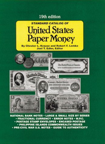 9780873419307: Standard Catalog of United States Paper Money
