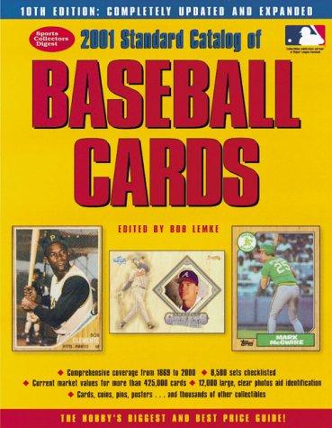 9780873419369: 2001 Standard Catalog of Baseball Cards