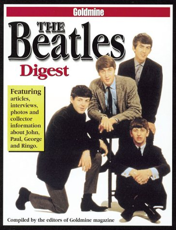 9780873419482: Goldmine the Beatles Digest