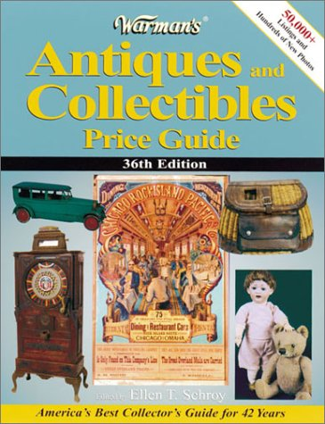9780873419758: Warman's Antiques and Collectibles Price Guide (Warman's Antiques and Collectibles Price Guide, 36th ed)