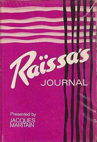 Raissa's Journal: Raissa Maritain