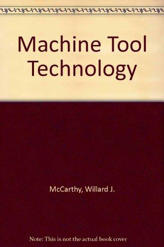 9780873451451: Machine Tool Technology