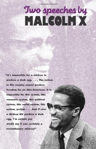 9780873485913: Two Speeches by Malcolm X