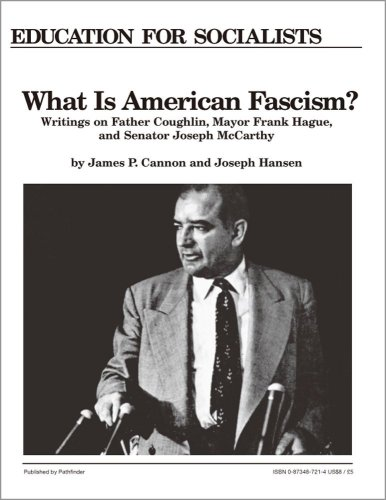 9780873487214: What is American Fascism?