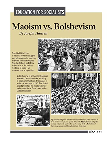 9780873488860: Maoism Vs. Bolshevism: The 1965 Catastrophe in Indonesia, China's Cultural Revolution & the Disintegration of World Stalinism (Education for Socialists)