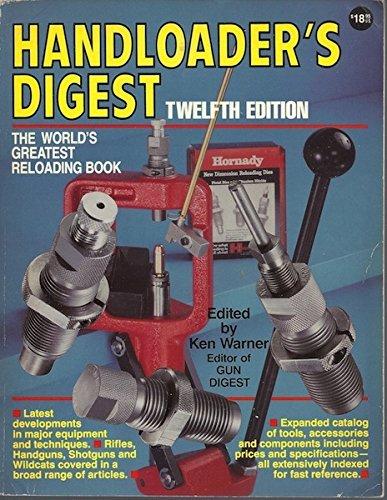 9780873491044: Handloader's Digest: 12th Edition