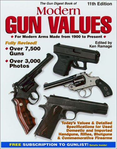 9780873492492: The Gun Digest Book of Modern Gun Values: For Modern Arms Made from 1900 to Present