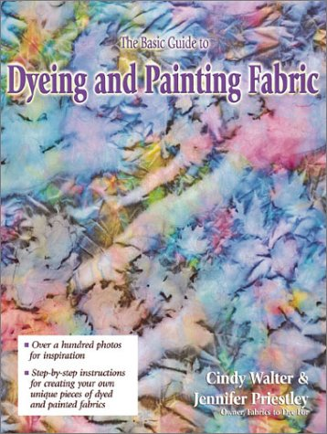 9780873493345: The Basic Guide to Dyeing & Painting Fabric