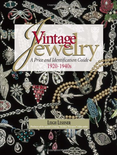 Vintage Jewelry 9780873494236 As good as gold, this book satisfies the tastes of anyone with a curiosity for old white metal and rhinestone jewelry. The award-winning producer of the Hidden Treasures: Antique and Costume Jewelry video series brings you this beautiful book, featuring more than 1,000 pieces of jewelry. Filled with 400 color photographs that bring these glittering baubles to life, the book details white metal and rhinestone jewelry of the 1920s-1940s. Readers will learn the history of rhinestones, the different types of metal and rhinestones used during this era, and the fashion trends that influenced the designs. An extensive pricing and identification guide covers signed and unsigned foreign and American pieces. -- Features more than 1,000 pieces of jewelry -- Extensive pricing and identification guide -- Showcases both signed and unsigned pieces, as well as foreign and domestic