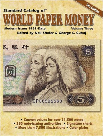 9780873495912: Standard Catalog of World Paper Money, Modern Issues 1961-Date: Modern Issues 1961-Date