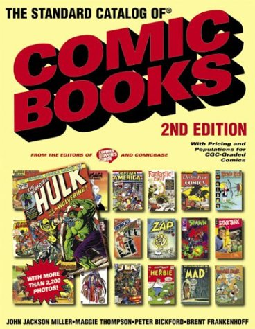 9780873497190: The Standard Catalog of Comic Books