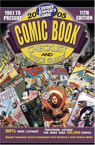 9780873498289: Comic Book Checklist and Price Guide 2005