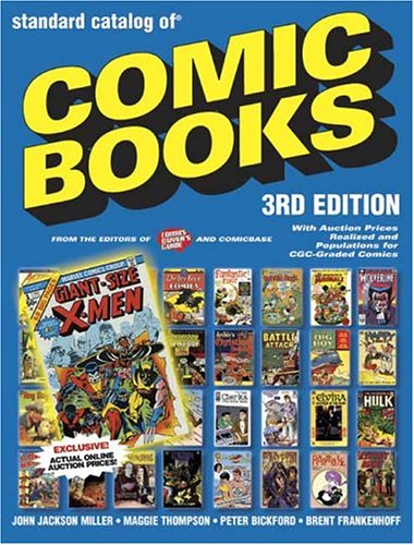 9780873498296: The Standard Catalog of Comic Books