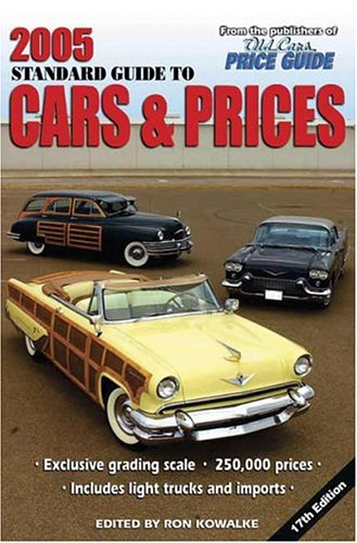 Classic Car Price Guide >> 2005 Standard Guide To Cars Prices