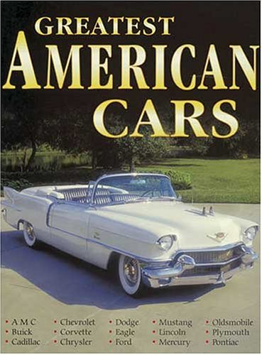 9780873499774: Greatest American Cars
