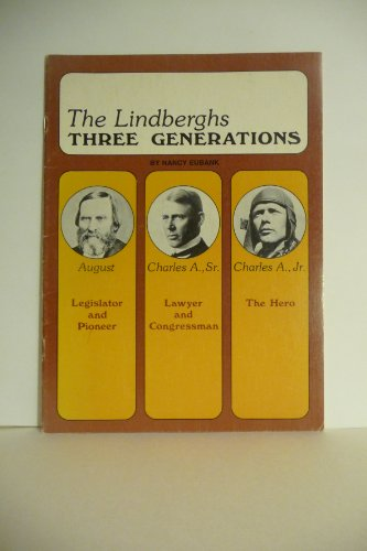 Lindberghs: 3 Generations (Minnesota Historic Sites Pamphlet Series): Eubank, Nancy