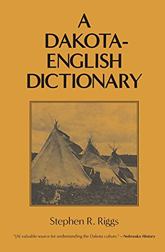 9780873512824: A Dakota-English Dictionary (Borealis Books)