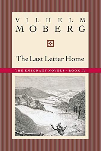 9780873513227: The Last Letter Home (Emigrant Novels)