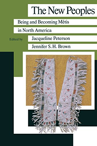 9780873514088: New Peoples: Being & Becoming Métis in North America (Manitoba Studies in Native History, Book 1)
