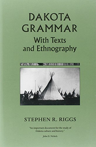 9780873514729: Dakota Grammar: With Texts and Ethnography