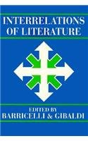 Interrelations of Literature (0873520912) by Jean-Pierre Barricelli