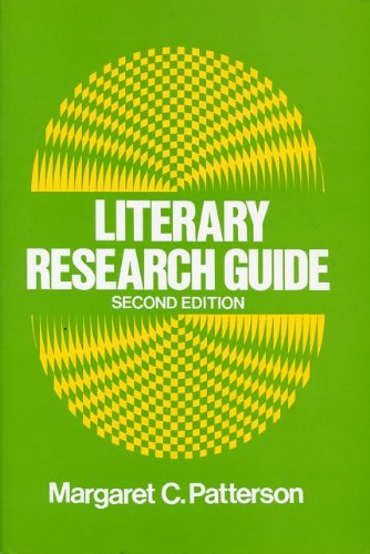 9780873521291: Literary Research Guide