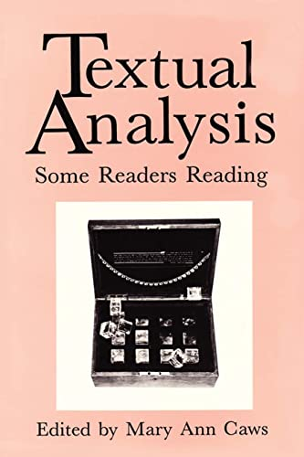 9780873521413: Textual Analysis: Some Readers Reading