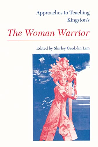 9780873527040: Approaches to Teaching Kingston's the Woman Warrior (Approaches to Teaching World Literature)