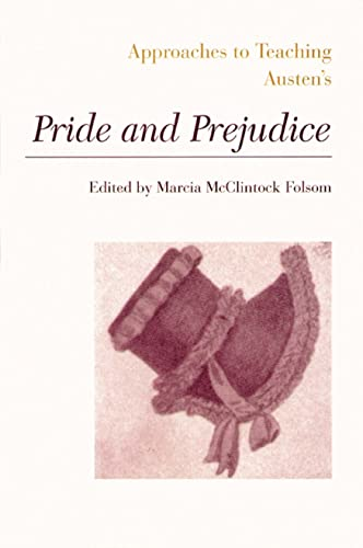 9780873527149: Austen's Pride and Prejudice (Approaches to Teaching World Literature)