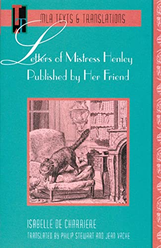 9780873527767: Letters of Mistress Henley Published by Her Friend (Texts and Translations)