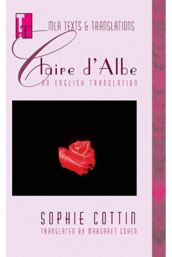 9780873529266: Claire D'Albe: An English Translation (MLA Texts & Translations)