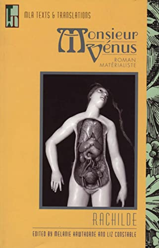 9780873529297: Monsieur Vénus: Roman matérialiste (Texts and Translations) (French Edition)
