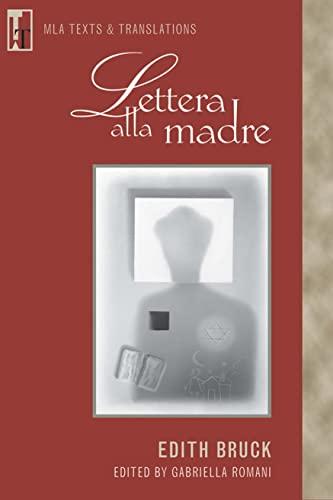 9780873529358: Lettera alla madre (Italian Edition)