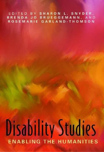 9780873529808: Disability Studies: Enabling the Humanities