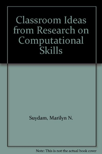 9780873530255: Classroom Ideas from Research on Computational Skills